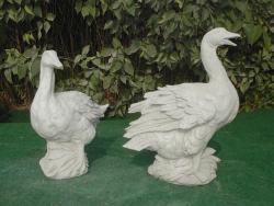 Goose Closed Beak & Goose Open Beak