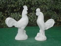 Rooster & Rooster Crowing