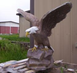 Large Flying Eagle